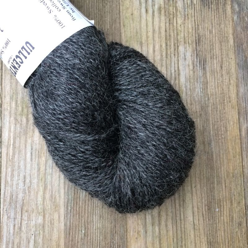 Ullcentrum 2ply Solid - Dark Grey