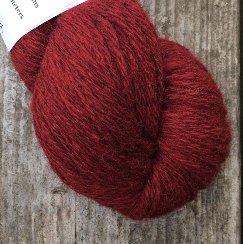 Ullcentrum Solids 3-ply - Falu Red