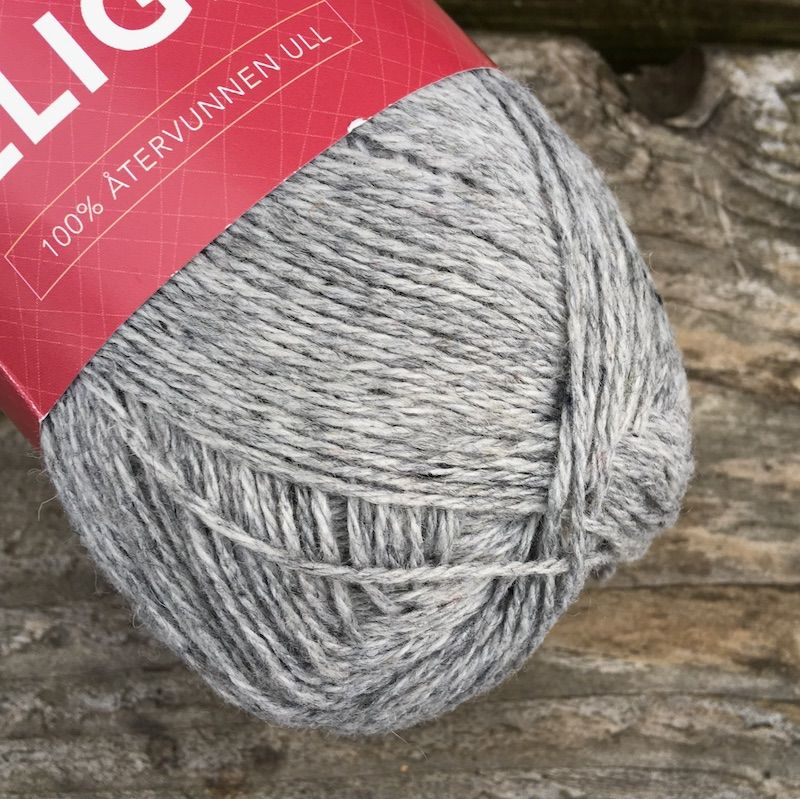Ulligen Recycled Wool - Light Grey