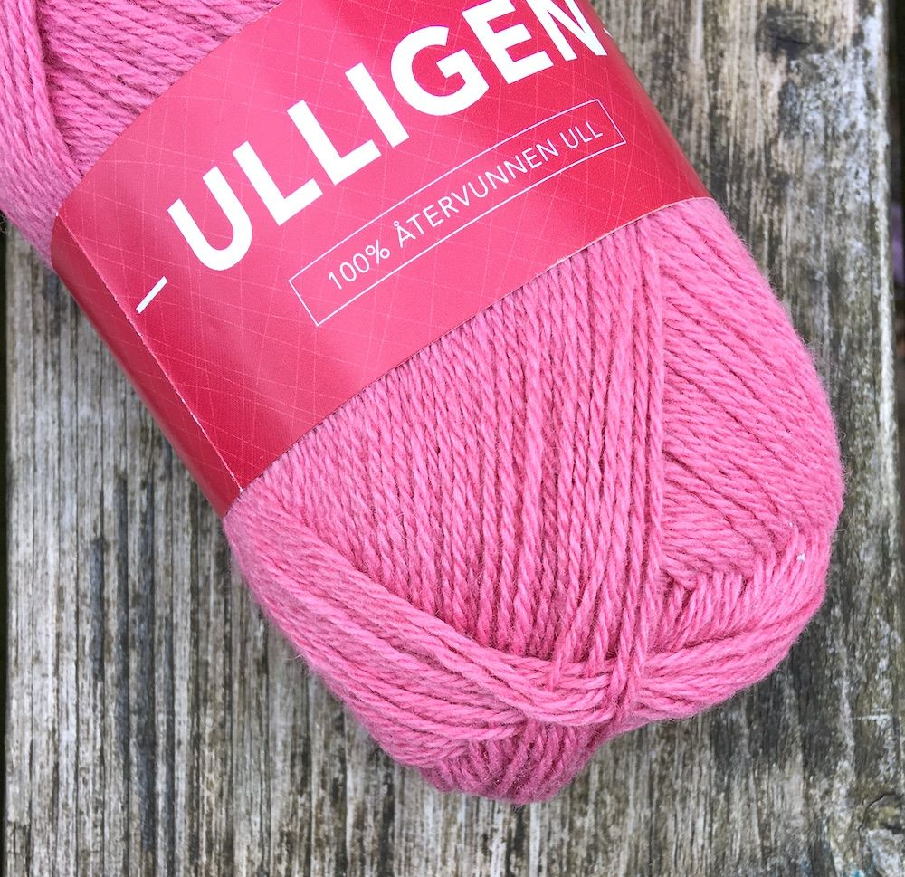 Ulligen Recycled Wool - Pink